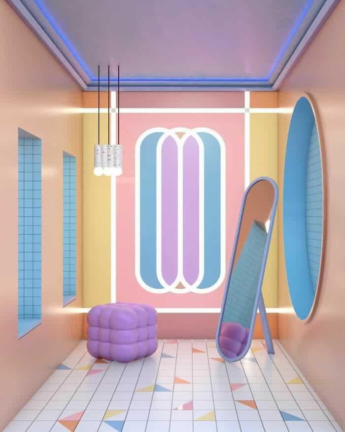 Pop Art Dekorasyon Örnekleri