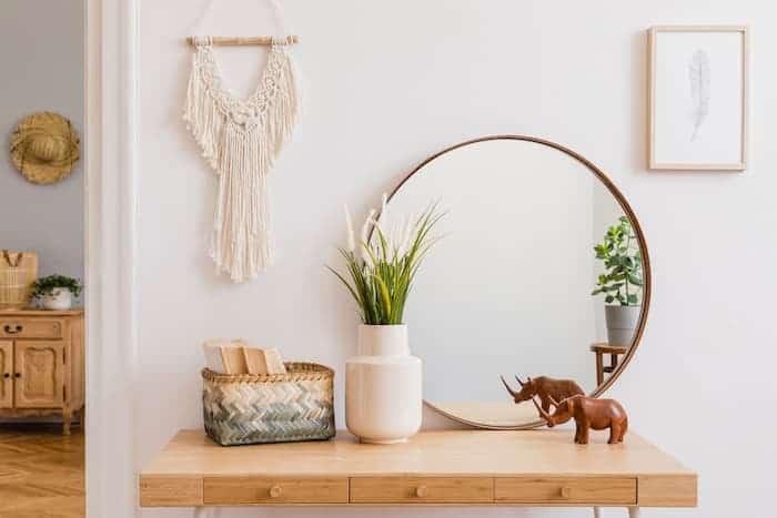 Dekoratif Ayna Konsol