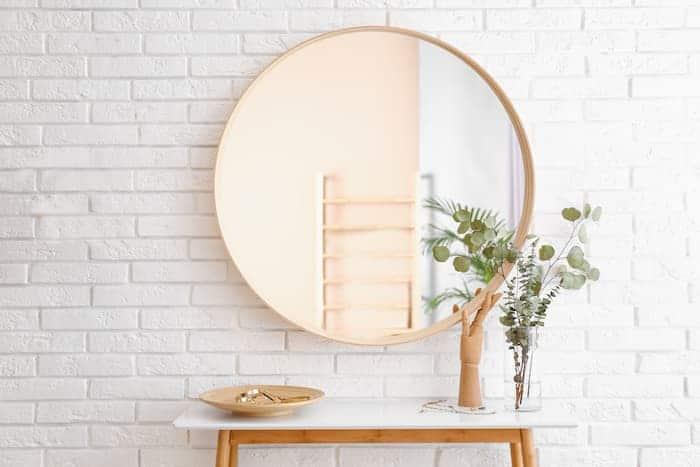 Yuvarlak Çerçeveli Ayna
