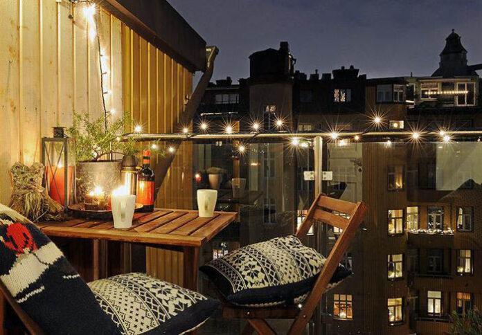 Romantik Balkon Tasarımı