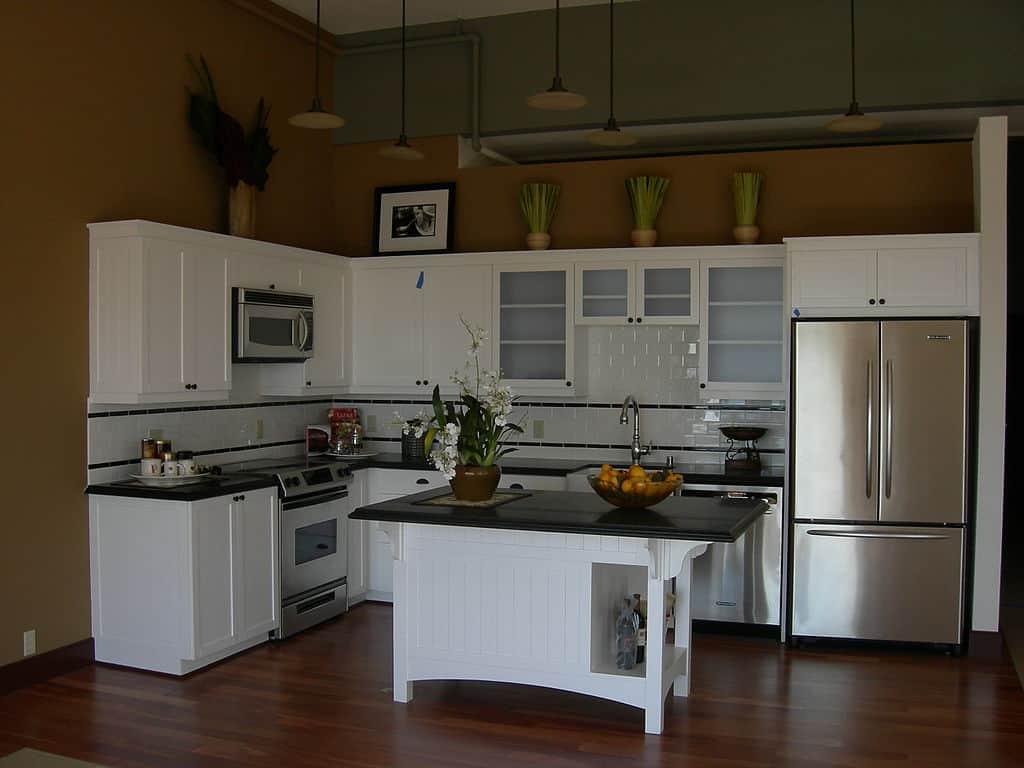 Küçük Evler İçin Amerikan Mutfak Modelleri