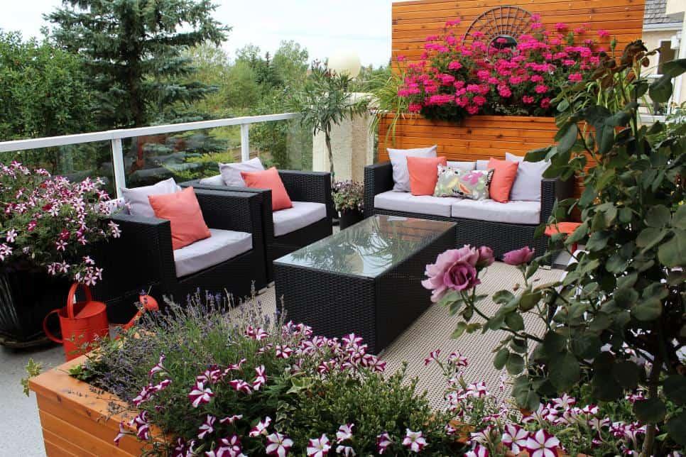 Renkli Bahçe Tasarım Fikirleri