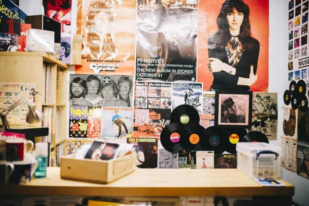 Albüm Kapağı Duvar Sanatı
