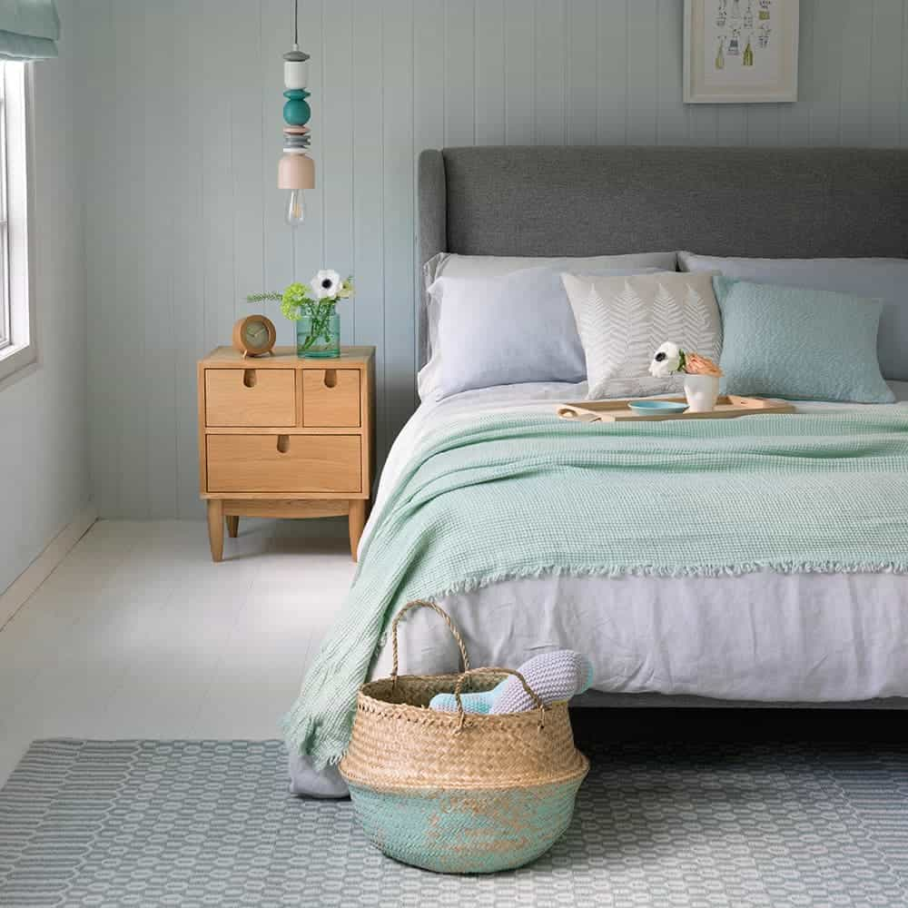 Bahçe Nanesi Yeşili Yatak Odası