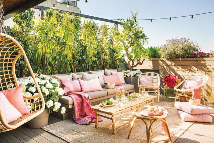 Bahçe ve Balkon Dekorasyonunda Yaz Hazırlıkları