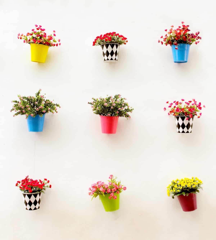 Duvar Süsü Çiçekler