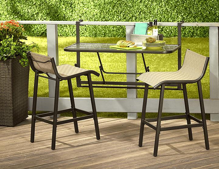 Katlanabilir Balkon Masası Kullanımı