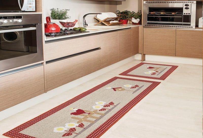 Kullanışlı Mutfak Halısı Modelleri