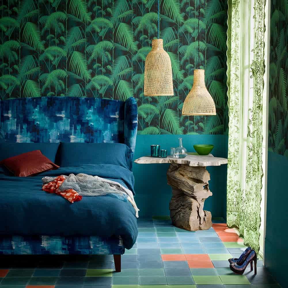 Safir Mavisi - Gür Orman Yeşili
