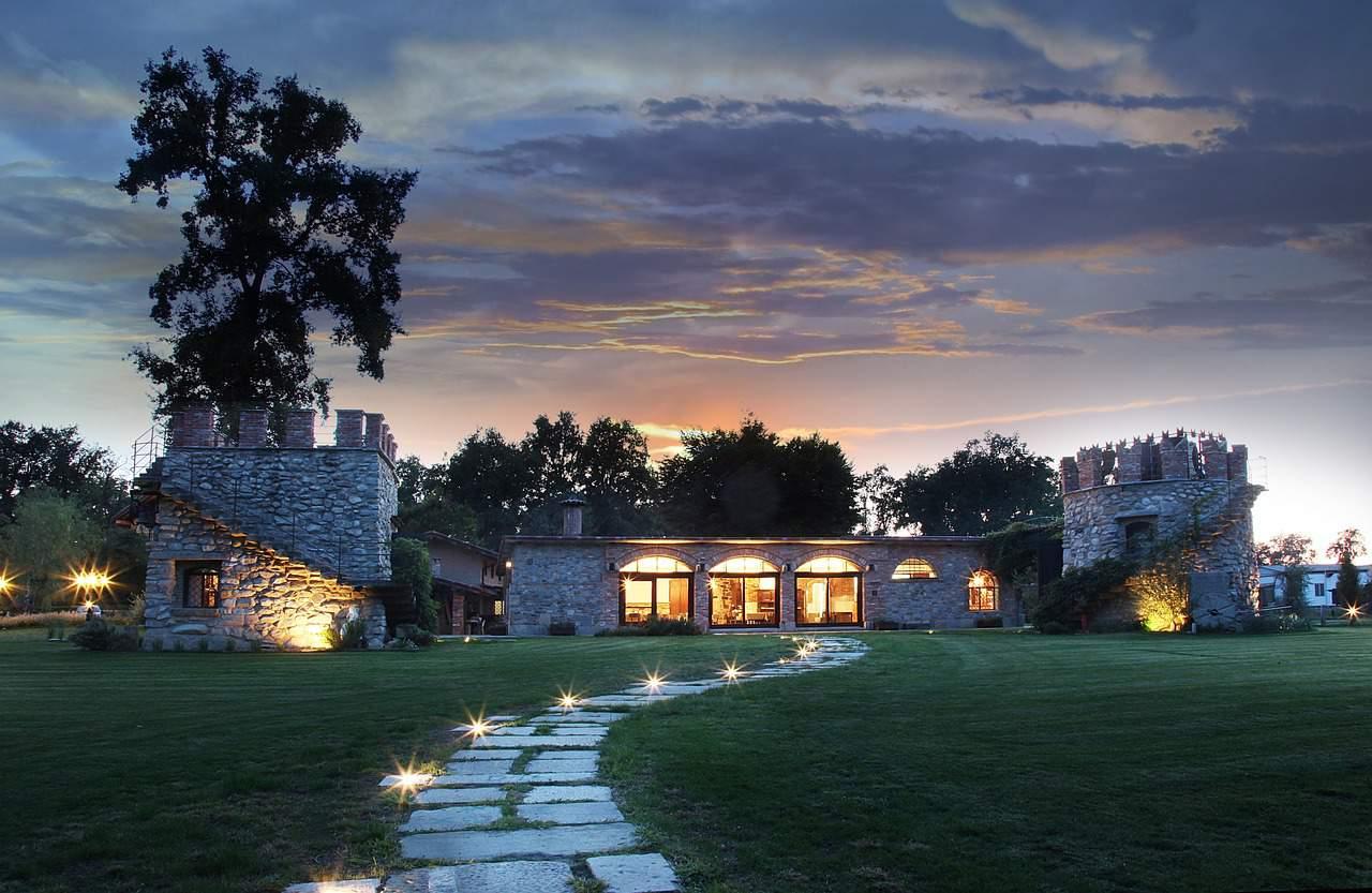 Villa Bahçe Dekorasyon Fikirleri