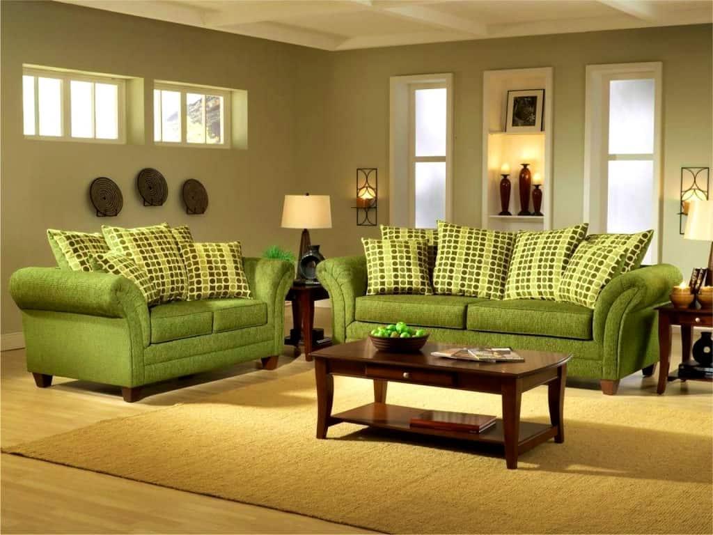 Yağ Yeşili ile Ev Dekorasyonu Fikirleri