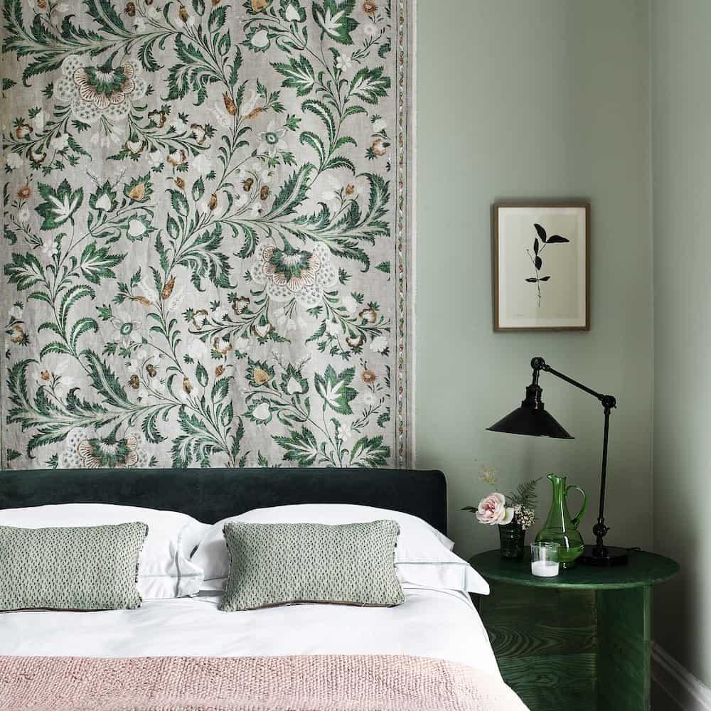 Yaprak Yeşili Yatak Odası