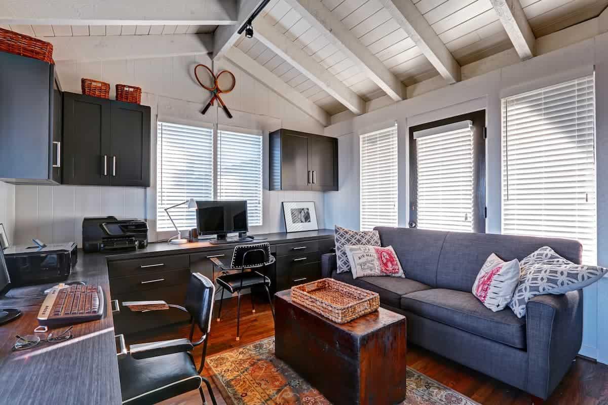 Mavi Renkli Home Ofis