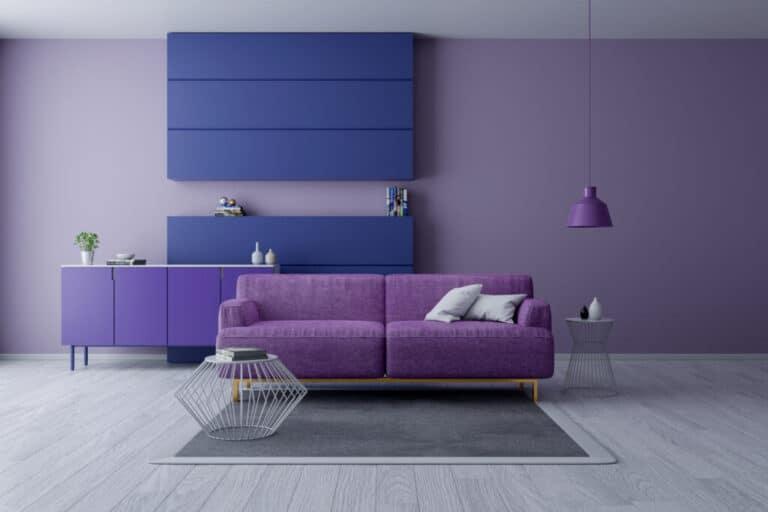 Mor Renkli Dekorasyon