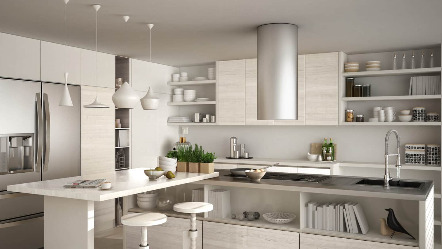 Mutfak Aydınlatması Modelleri