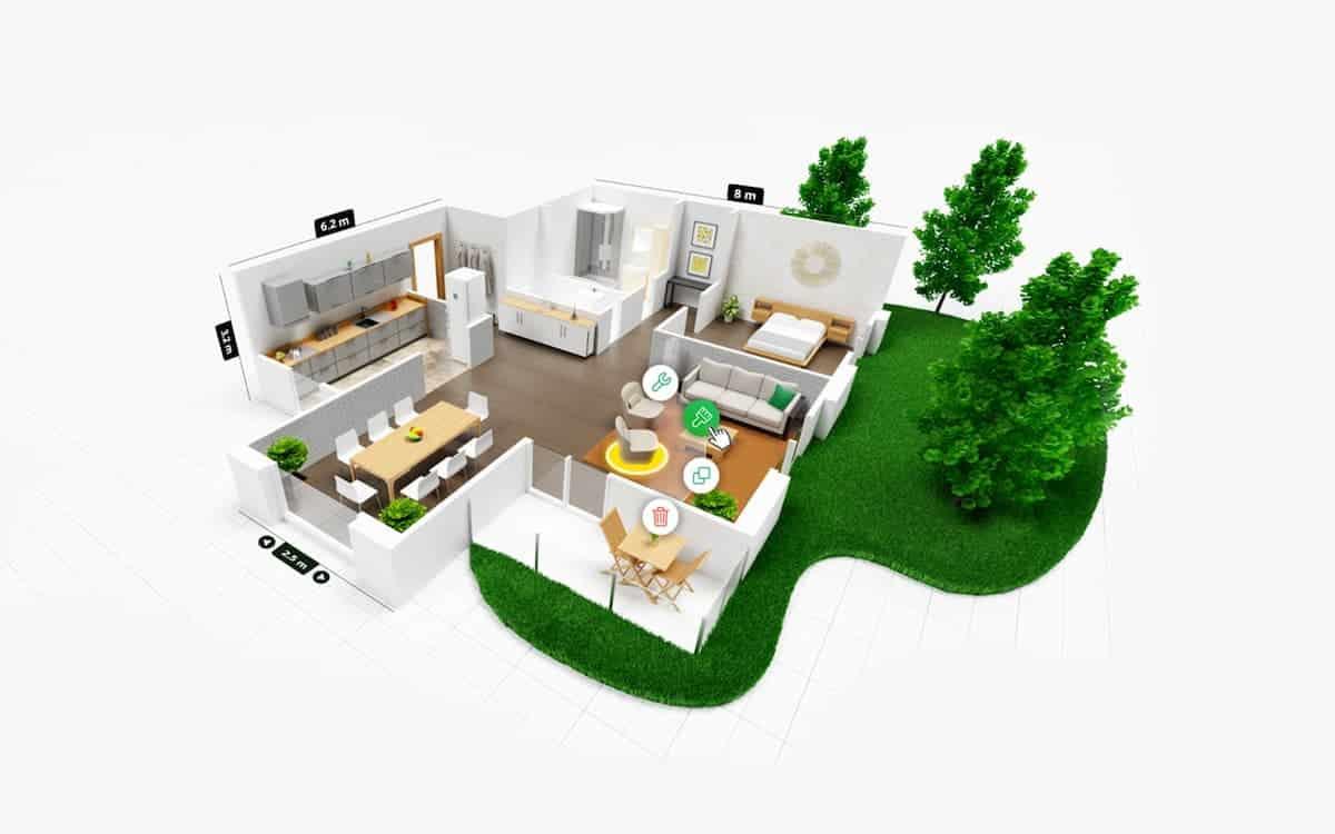 Planner 5D Dekorasyon Uygulaması